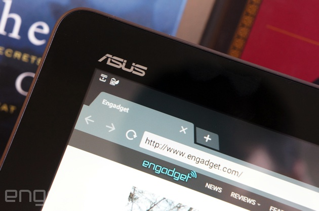 ASUS Transformer Pad TF103C up close and personal