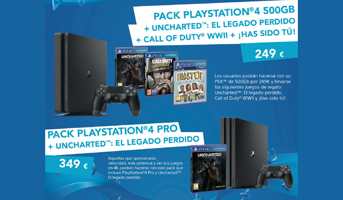Estas son las ofertas de PlayStation para el Black Friday