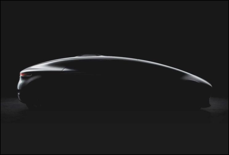 Teaser Bild:  Mercedes autonomous driving concept