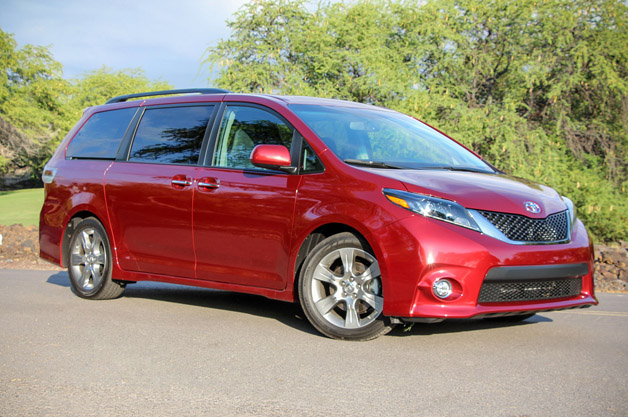 Fantastic 2015 Toyota Sienna Gives The Minivan A Makeover  Master Herald