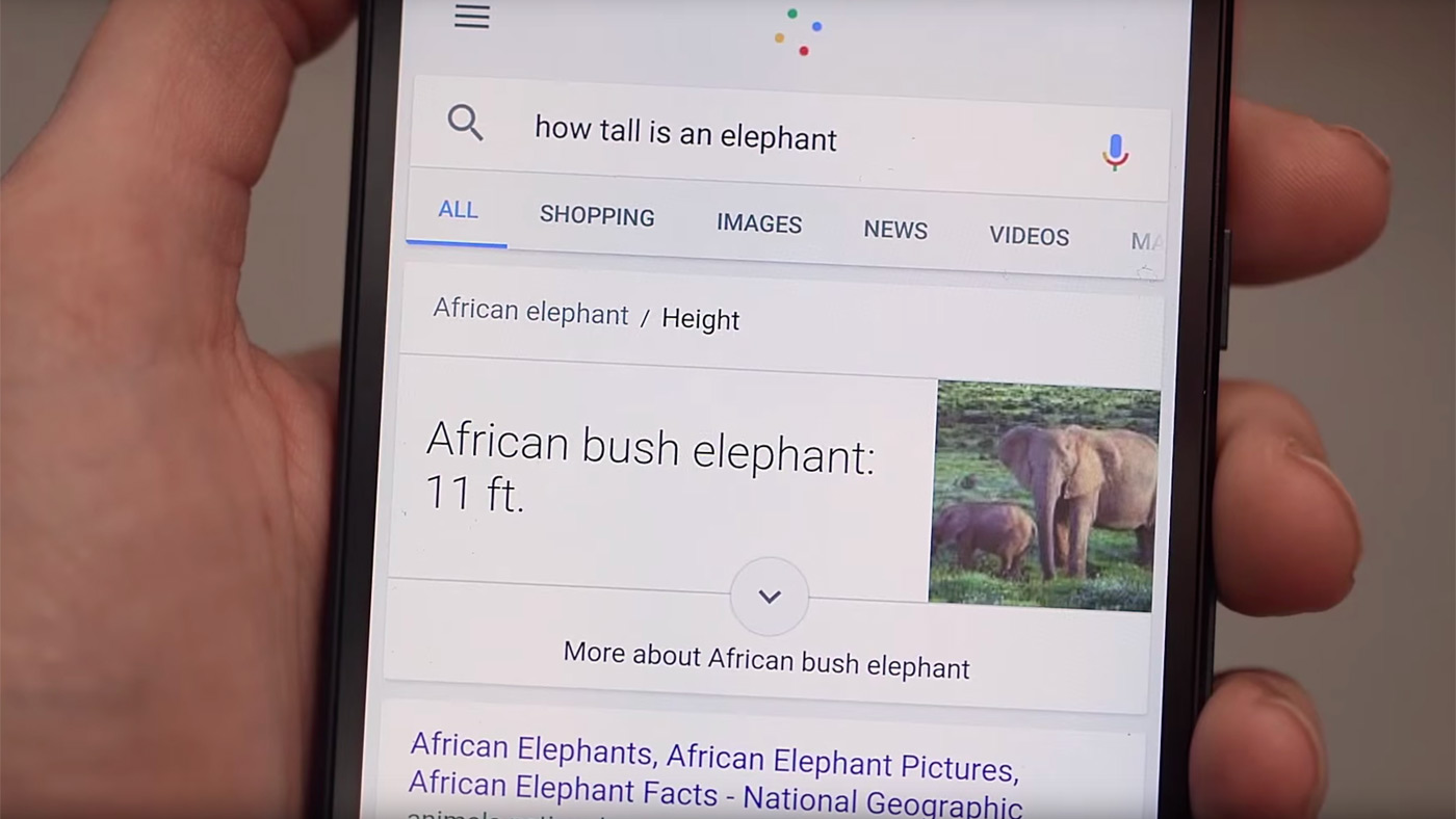 Google gives its search app a new voice