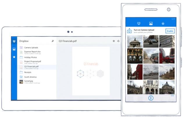 Dropbox llega al fin a Windows Phone
