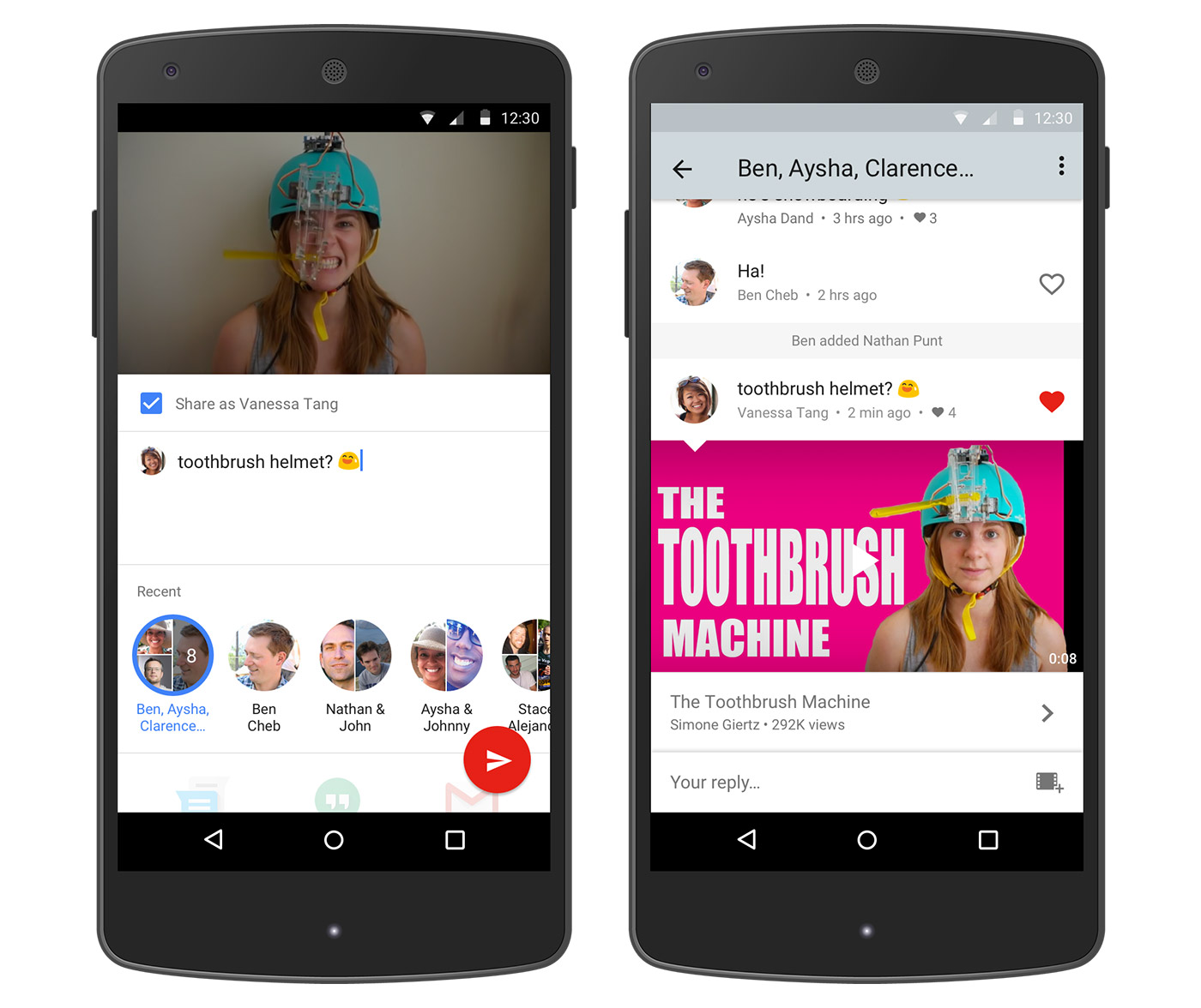Some YouTube users now have access to its in-app messenger