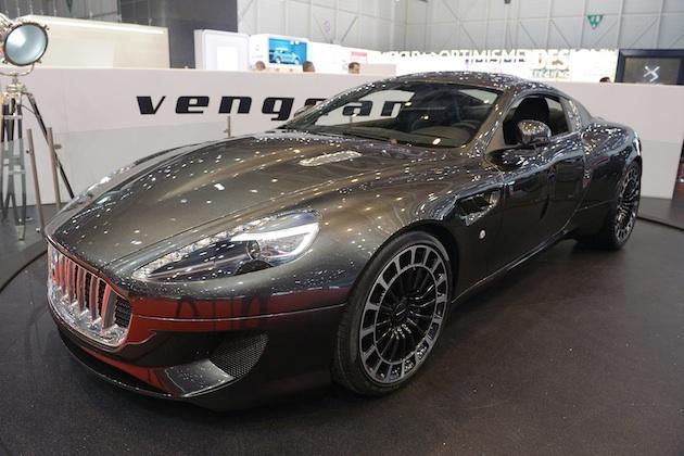 【ジュネーブ・モーターショー】カーン・デザイン、アストンマーティンのボディを大胆に造り変えた「ヴェンジェンス」を発表