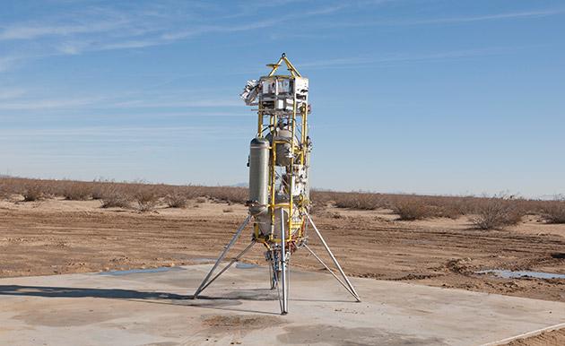 NASA starts testing a more precise landing technology