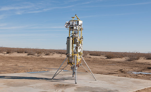 NASA starts testing a more precise landing technology