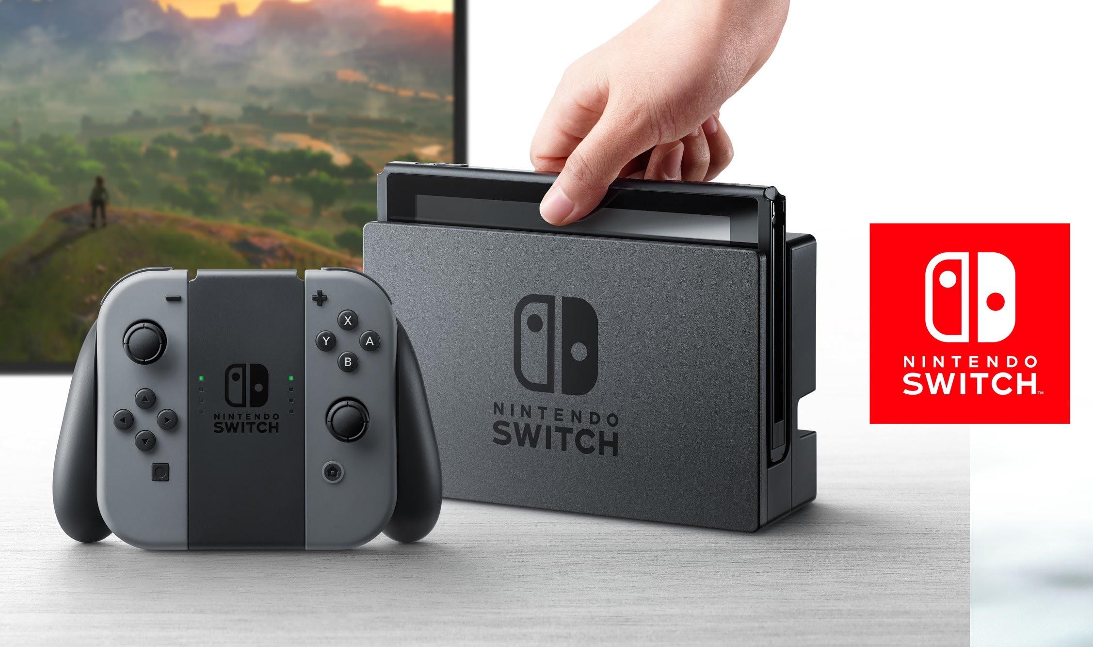 Nintendo cae en la Bolsa tras presentar su Switch