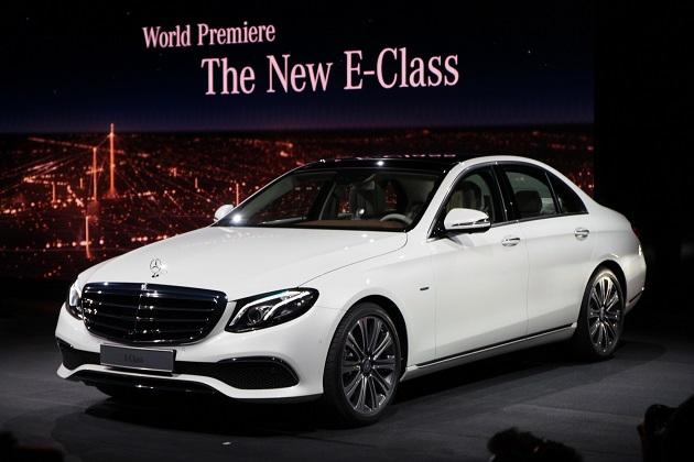 【北米国際自動車ショー2016】メルセデス・ベンツ、新型「Eクラス」を発表