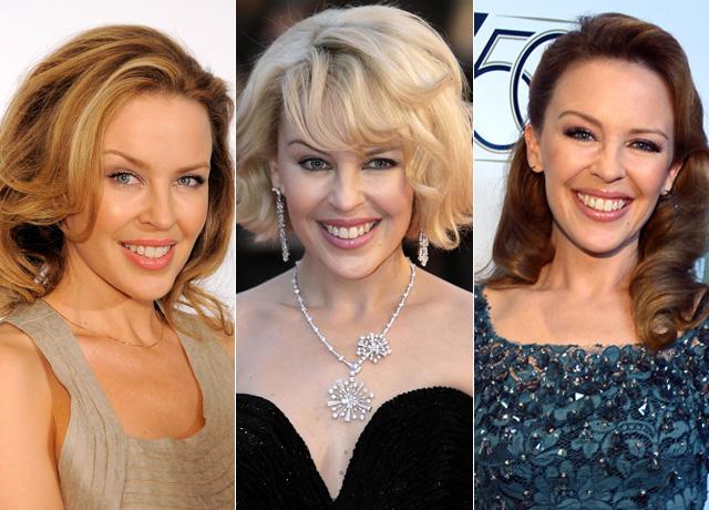 Kylie Minogue hair