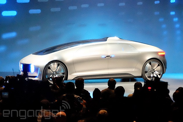 Mercedes-Benz unveils its vision of a self-driving car