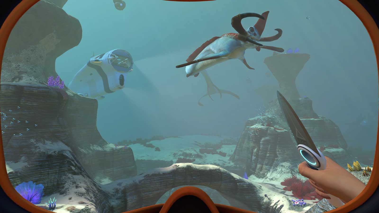 photo image Undersea survival game 'Subnautica' hits PS4 this holiday season