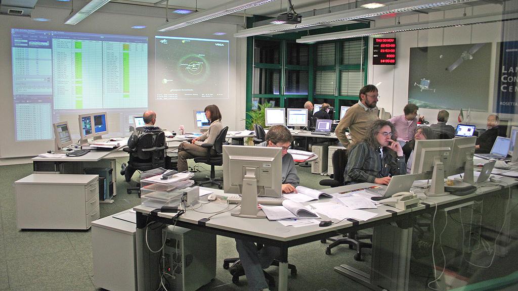 Kometen-Lander Philae ist wach