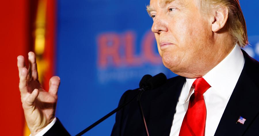 Trump nutzt immer noch seine alte Android-Gurke