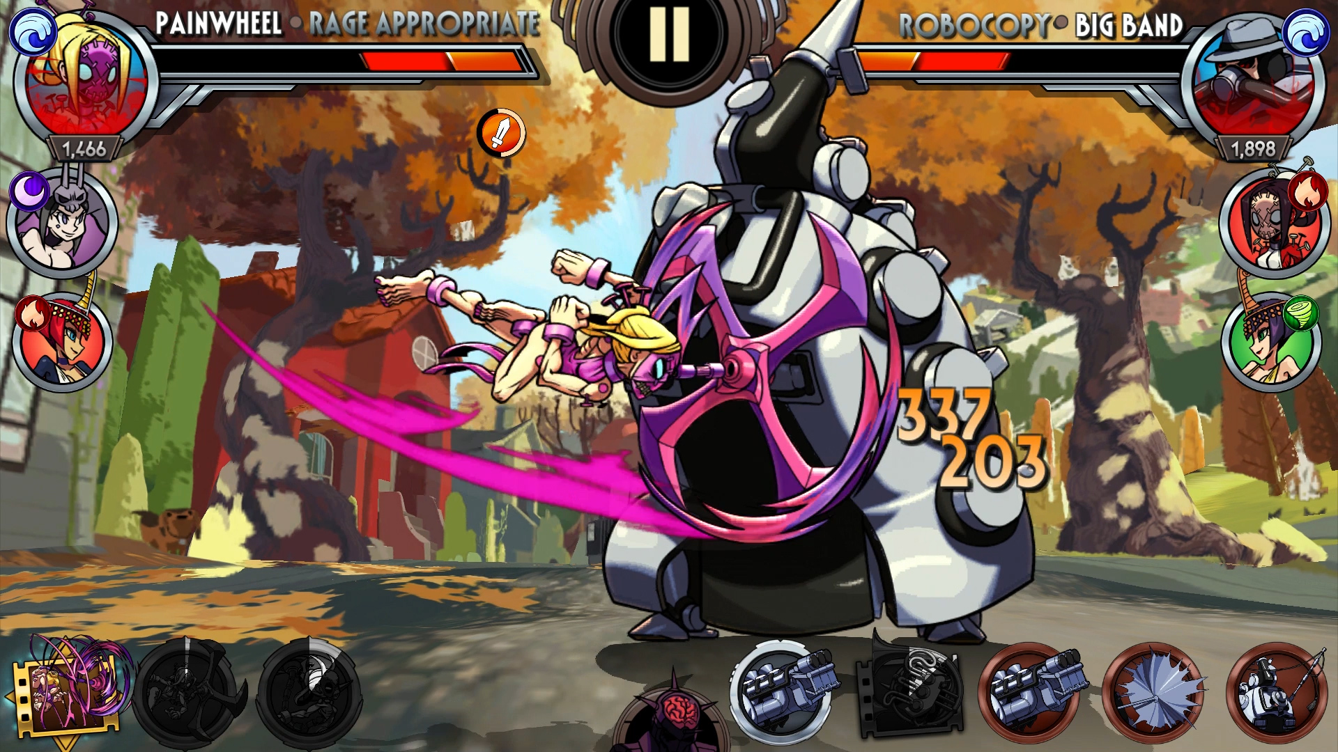Skullgirls relaunches on mobile as developer ditches publisher