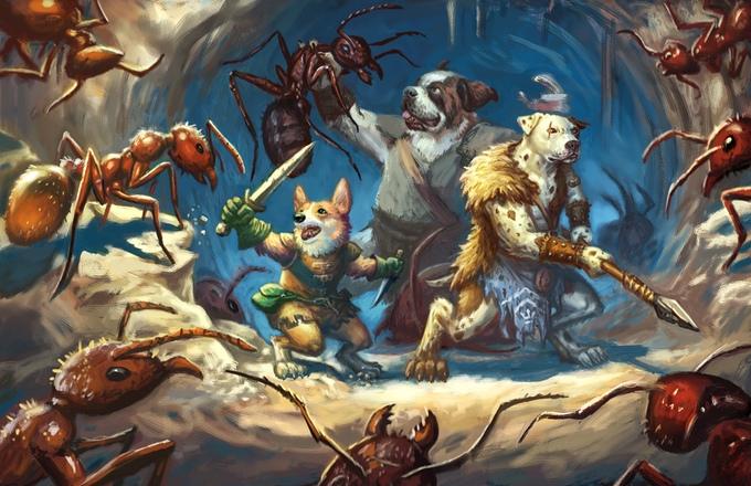 Pugmire: Neues Rollenspiel mit heldenhaften Hunden