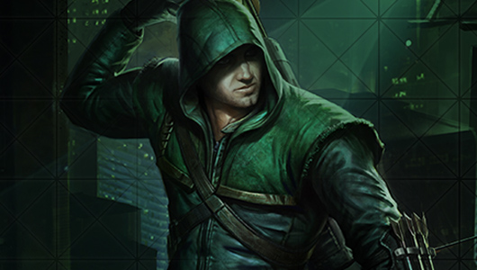 Get a free Infinite Crisis Green Arrow skin via Facebook