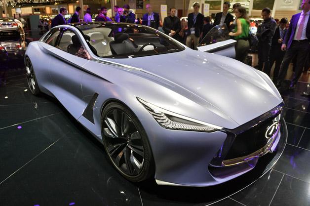 【Paris Motor Show 2014】インフィニティのフルサイズセダン「Q80」(ビデオ付)