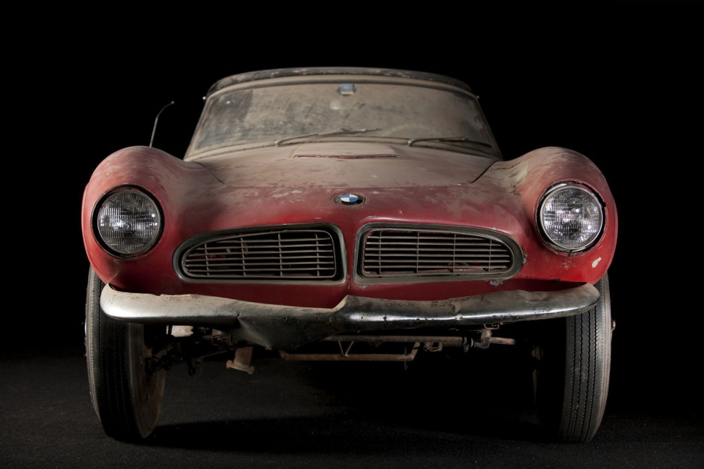 The King, lost and found, lost & found, BMW 507, BMW 507 lost & found, Elvis, Elvis Presley, BMW Museum, Graf Göertz, V8, BMW V8, BMW classic, Oldtimer,