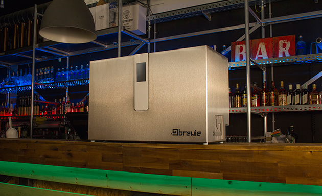 Brewie's smartphone-controlled system makes homemade beer easier