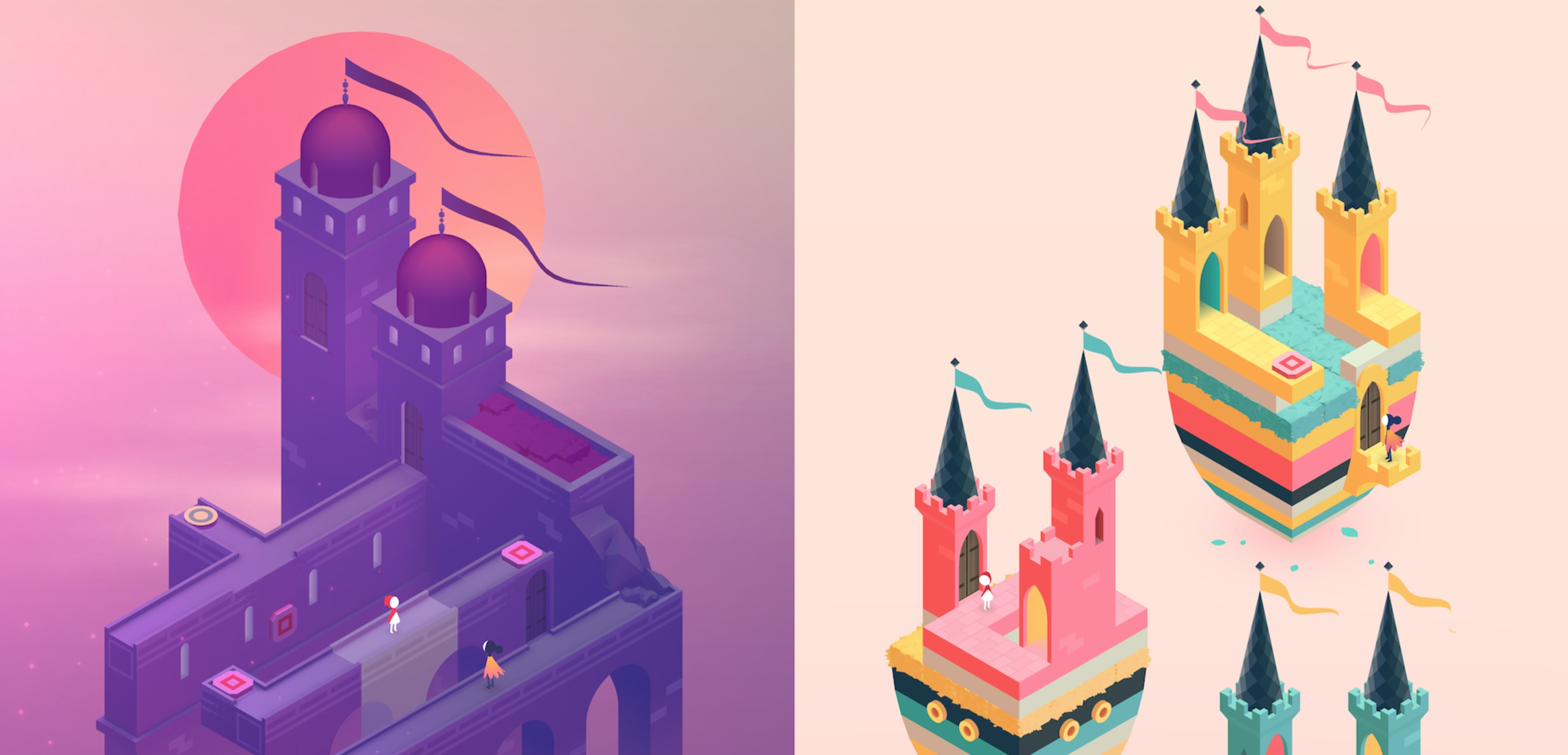 Monument Valley 2 sigue siendo tan bonito y mágico como su antecesor
