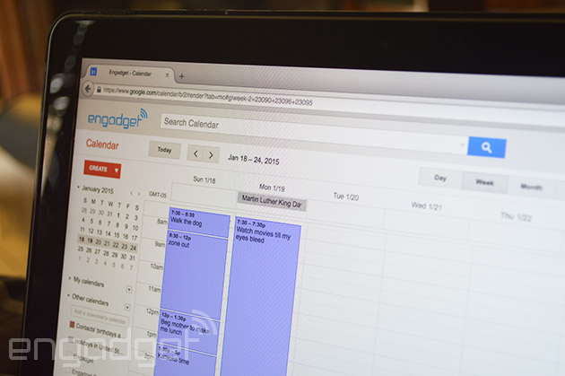 Google Calendar for the web now lets you plan a schedule more quickly