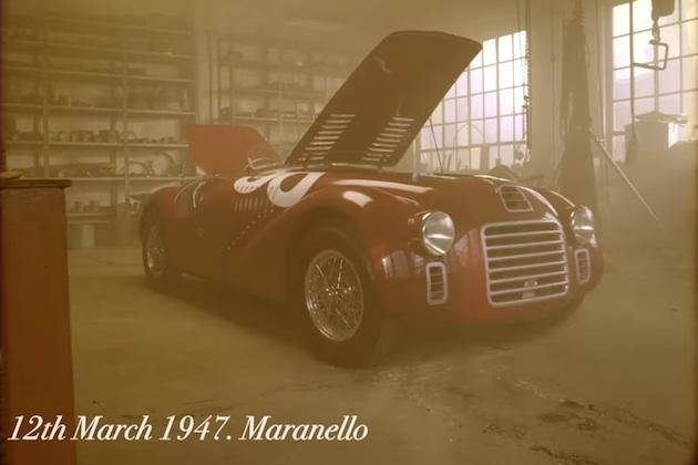【ビデオ】初めてフェラーリの名前を冠したクルマが、70年前に走り始めた日を再現