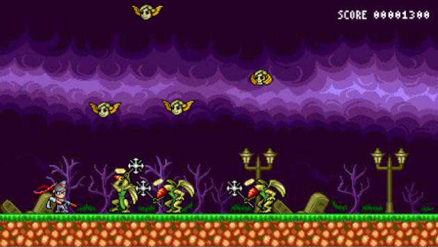 'Bayonetta' is now a stupidly difficult 8-bit browser game