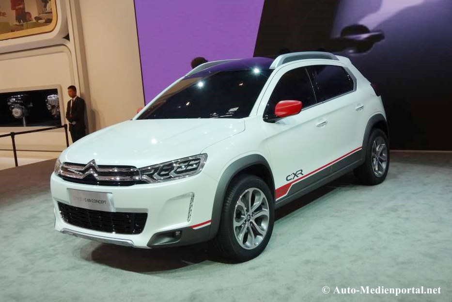 auto china, Citroen C-xr, Premiere, crossover, urban crossover, city crossover dongfeng, Peugeot 2008, fotos, pics, bilder, breaking, C-XR