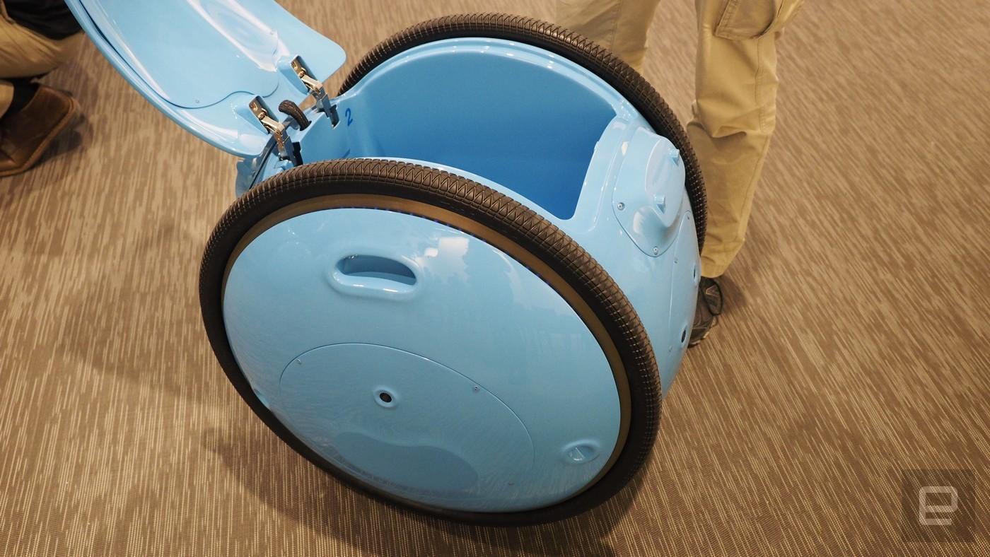 Gita es el robot que te llevará las bolsas de la compra en un futuro cercano