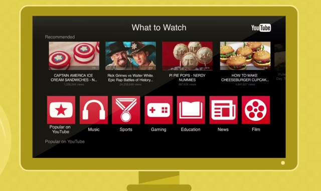 Apple TV's YouTube app gets a sorely needed update