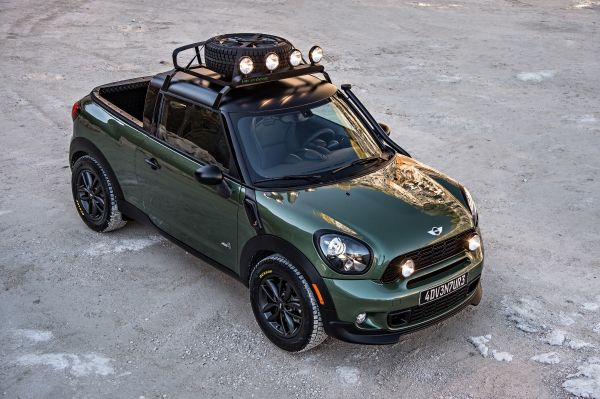 Mini, Mini Paceman, Mini Pickup, Mini Paceman Adventure, Bilder, Fotos, Pickup Pick up, Mini Pikcup, Pacaman Pickup