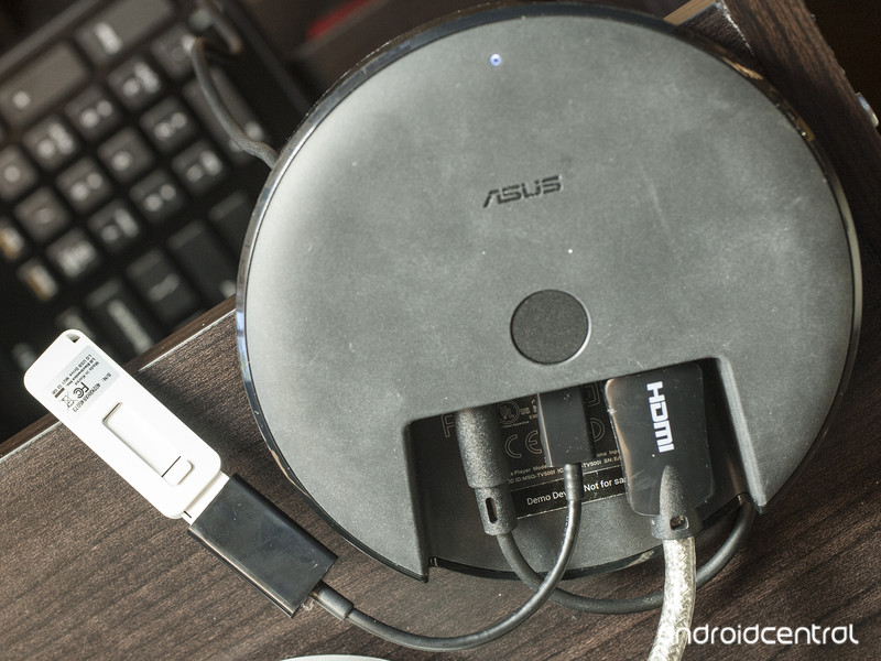 Podrás conectar memorias USB y cable ethernet al Nexus Player