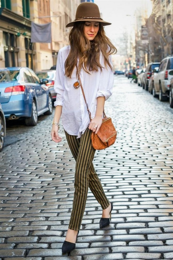 10 ways to wear a white shirt