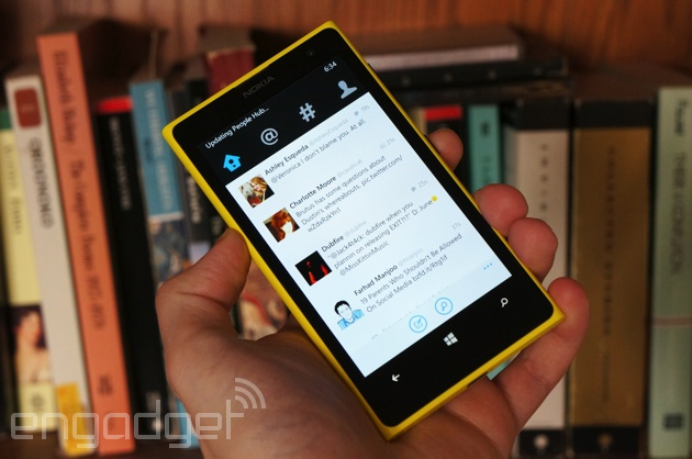 Twitter beta on Windows Phone