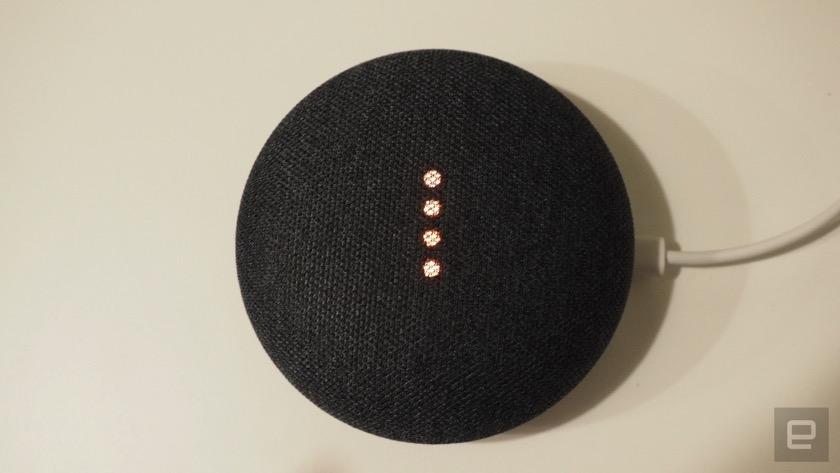 Google Home Mini nimmt konstant Audio auf