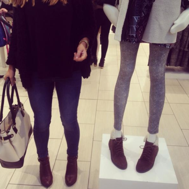 Super-skinny Topshop mannequin causes online outrage