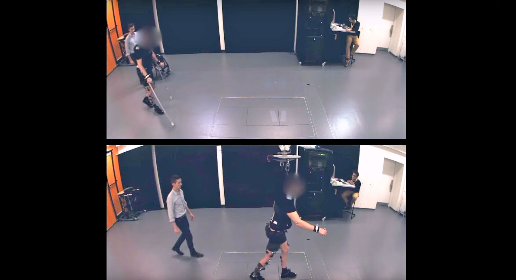 Smart harness can help stroke victims learn to walk again