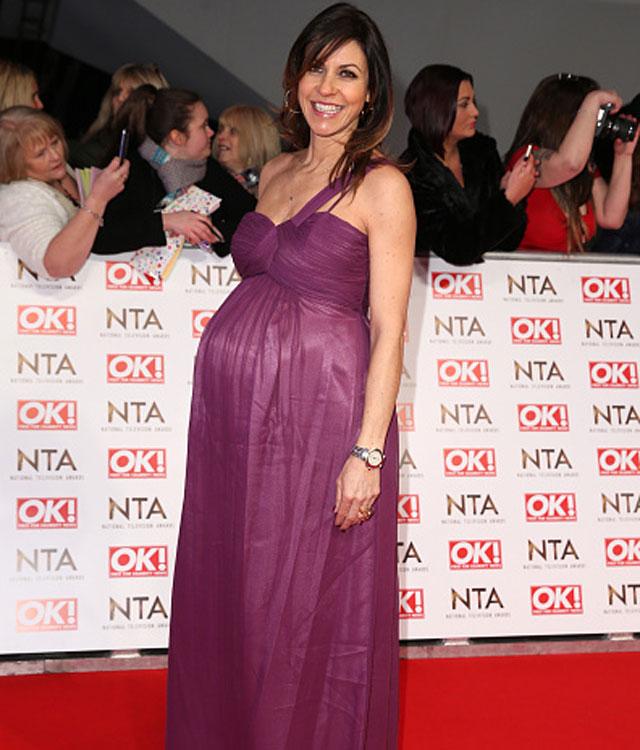 Pregnant Julia Bradbury