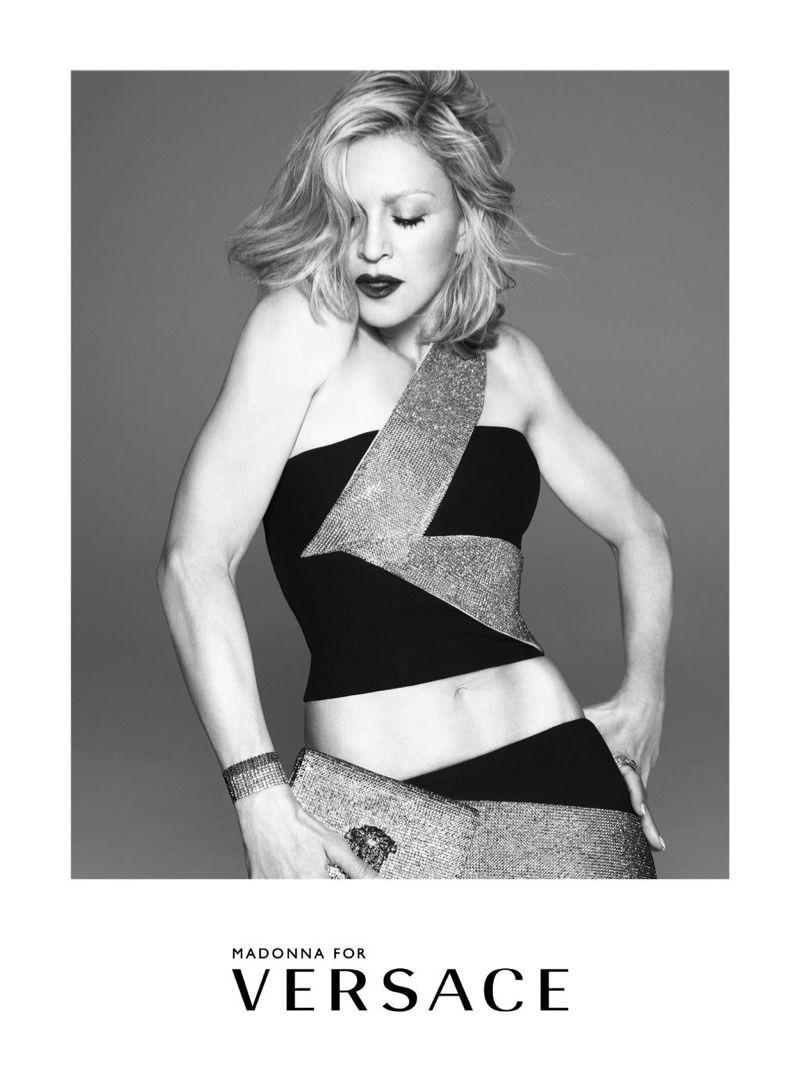 Madonna stars in Versace's Spring/Summer 2015 Campaign