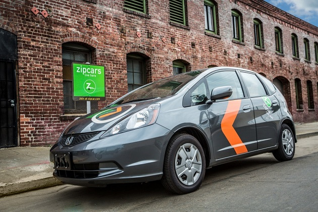 乗り捨て可能なZipcarで、より便利なカーシェアリングを実現