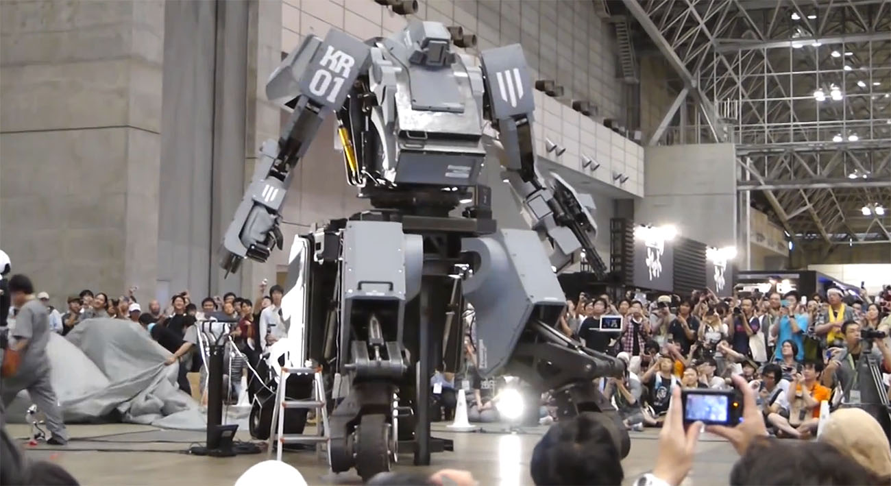 giant robots japan