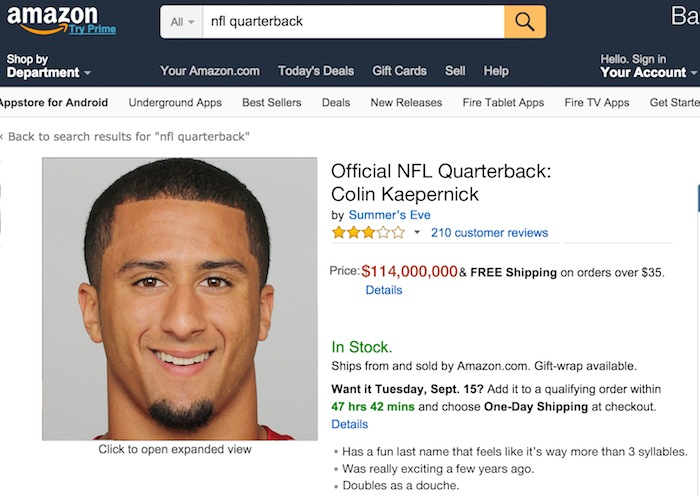 nfl quarterback reviews on amazon