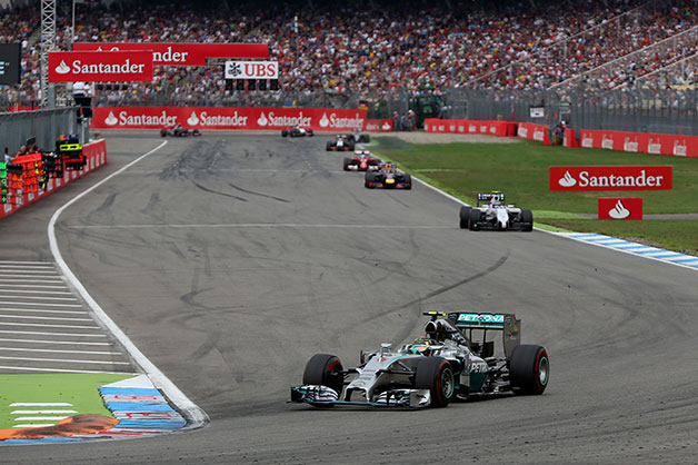 2014 German Grand Prix.