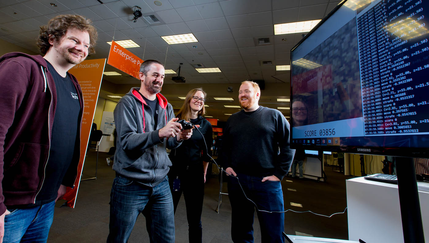 2016 TechFest at Microsoft on March 8, 2016. Photography by Scott Eklund/Red Box Pictures)