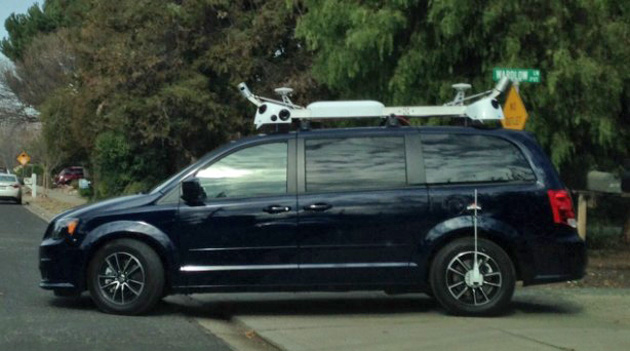 Apple is driving camera-equipped minivans around California
