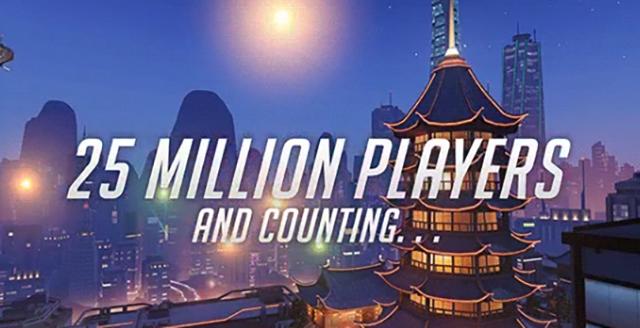 El número de jugadores de Overwatch supera ya la población de muchos países