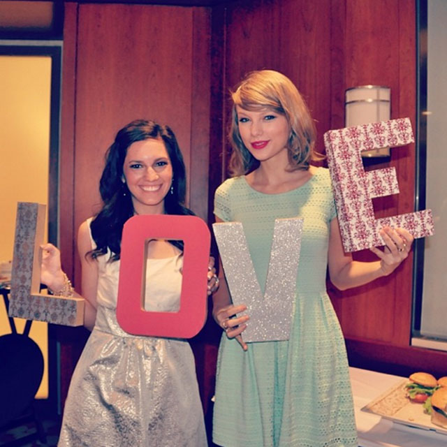 taylor swift crashes bridal shower