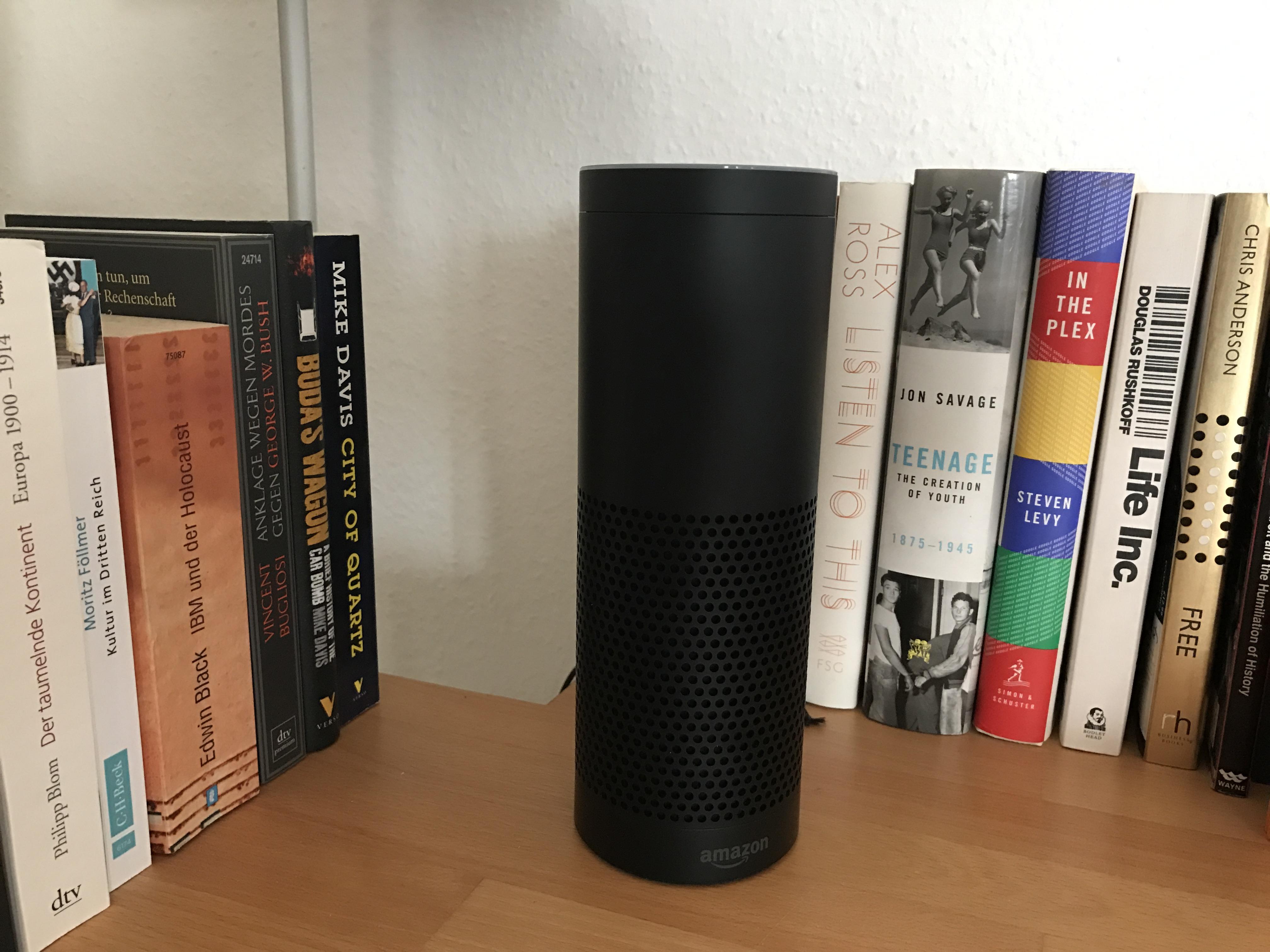 Endlich sofort und für alle: Amazon Echo und Echo Dot