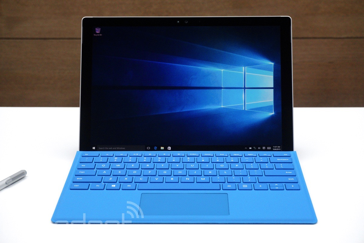 The Surface Pro 4 vs. the competition: Tablets for work first