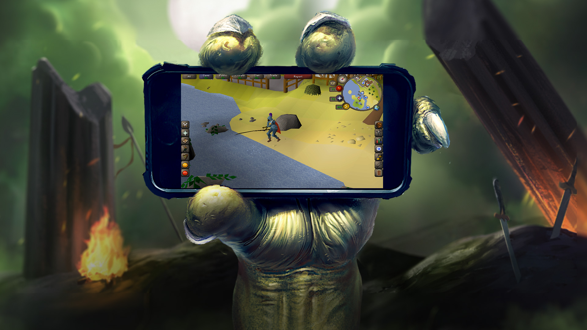 photo image Play 'Runescape' seamlessly between your PC and phone